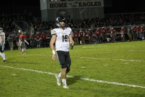 Avery Moore Amazing Against The Frankenmuth Eagles On The Road For The New Lothrop Hornets Football Team.