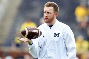 Jay Harbaugh Is A Good RB's Coach For The Michigan Wolverines Football Team.