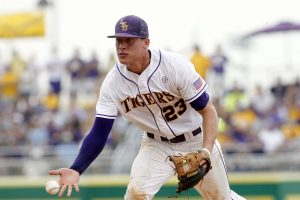 JaCoby Jones Played His College Baseball For The LSU Tigers In Baton Rouge.