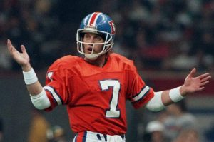 John Elway Told The Denver Broncos Football Team On Those Stuff Not To Do Out There.
