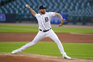 Spencer Turnbull Was Solid On The Mound For The Detroit Tigers In The Victory At Comerica Park In Detroit.