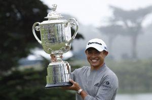 Collin Morikawa Won The 2020 PGA Championship At The TPC Harding Park Golf Course In San Francisco, CA.