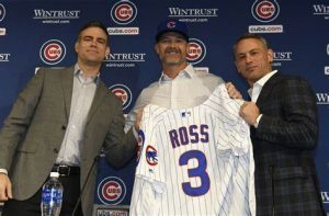 David Ross Has Replaced Joe Maddon Very Nicely As Manager For The Chicago Cubs Baseball Team In 2020.