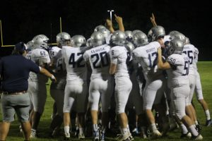 North Branch Broncos Football Team Will Remember This Victory For A Longtime Against The Almont Raiders On The Road.