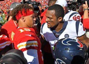 Deshaun Watson vs Patrick Mahomes In The 2020 NFL Season Opener On Thursday Night Football On NBC.