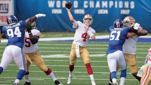 Nick Mullens Filled In Nicely For The San Francisco 49ers To A End Victory On The Road.
