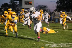 North Branch Broncos Football Team Got A Victory On The Road Over The Imlay City Spartans.