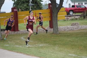 Nick McArdle Showing Me Good Impression At The GTCW Division Meet On Tuesday Night At Reese HS.