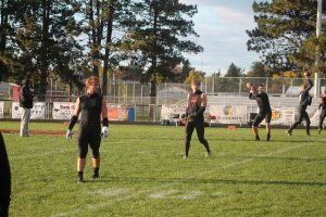 Zach Franzel Had A Good Game Running The Football Game Against The Harbor Beach Pirates & Ubly Bearcats.