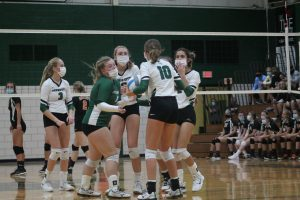 Brown City Green Devils Volleyball Team Got A Victory Against The Defending GTCE Division Champions At Home On Tuesday Night.