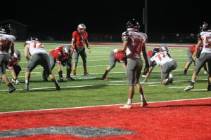 Frankenmuth Eagles Football Team Showing Me Good Impression Against The Alma Panthers In The Home Opener On There New Turf At Frankenmuth HS.