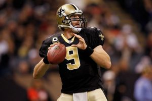 Drew Brees Carried The New Orleans Saints To A Victory On The Road At Ford Field In Detroit.