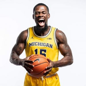 Chaundee Brown Carried The Michigan Wolverines Basketball Team In The Opener.
