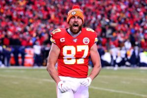 Travis Kelce Scored The GW TD Reception For The Kansas City Chiefs On Sunday Night Football.