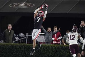 Jermaine Burton Is Going To Be A Special WR For The Georgia Bulldogs.