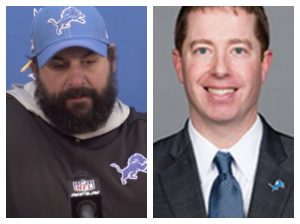 Matt Patricia & Bob Quinn Fired As Head Coach & GM For The Detroit Lions.