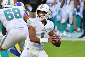 Tua Tugovailoa Is Doing Very Well At QB For The 2020 Miami Dolphins Football Team In His Rookie Season.