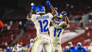 Van Jefferson Has Been A Surprise Rookie WR For The 2020 Los Angeles Rams.