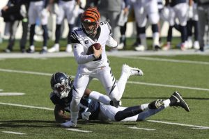 Joe Burrow Carried The Cincinnati Bengals To A Home Victory Against The Tennessee Titans.