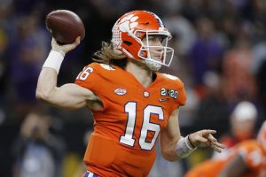 Justin Fields vs Trevor Lawrence For The College Football Playoff Semifinal Game On New Years Day.