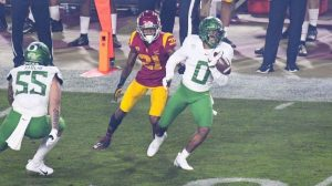 Oregon Ducks Defense Won The Pac-12 Conference Championship Game To Be Back 2 Back Champions.