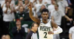 Rocket Watts Has Made Nice Progress For The Michigan State Spartans Basketball Team In East Lansing.