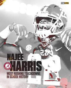 Najee Harris Was Fantastic In The SEC Conference Championship Game.