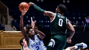 Michigan State Spartans Got A Road Victory Over The Duke Blue Devils In The State Farm Classic.