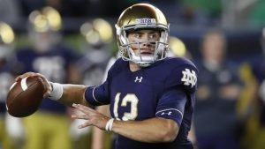 Ian Book Has Been Unbelievable At QB For The 2020 Notre Dame Fighting Irish Football Team.