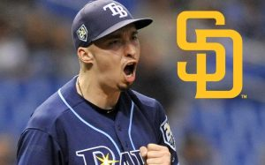 Blake Snell Got Traded To The San Diego Padres.