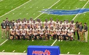 Ubly Bearcats Football Team Division 8 State Runner-Up Finish At Ford Field In Detroit.