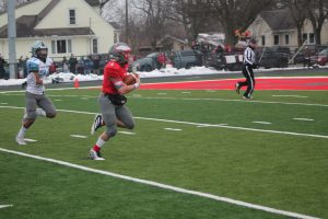 Davin Reif Will Have His Career Frankenmuth Eagles Football Career In The Division 5 State Championship Game This Saturday At Ford Field In Detroit,