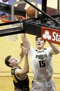 Jaden Ivey & Zach Edey Have Made Nice Contribution As True Freshman For The Purdue Boilermakers Basketball Team In West Lafayette, Indiana.