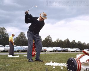 Sam Snead Was A Good Athlete & An Awesome Golf Swing As Well Too In The Past Years.
