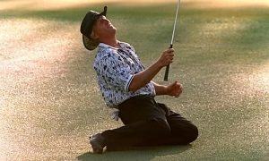 25 Years Ago At The Masters In Augusta National.
