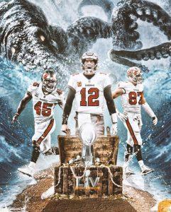 Tampa Bay Buccaneers Super Bowl LV Champions.