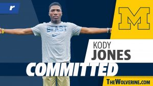 Kody Jones Verbally Committed To The Michigan Wolverines Football Team In The 2022 Class.