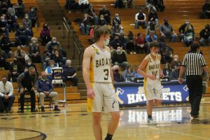 Aaron Sowles Is A Nice Player For The 2021 Bad Axe Hatchets Boys Basketball Team.