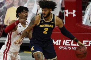 Michigan Wolverines Got A Nice Comeback Victory Over The Wisconsin Badgers On Valentine's Day In Madison, WI.