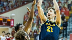 Franz Wagner Is Having A Excellent Sophomore Season In The 2020-21 Michigan Wolverines Basketball Team In Ann Arbor.