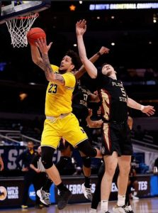 Brandon Johns Jr. Has Stepped Up For The Michigan Wolverines Basketball Team In The 2021 NCAA Tournament.