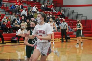 Mia McLaughlin Has Done Very Well For The 2021 Frankenmuth Eagles Girls Basketball Team As A Freshman.
