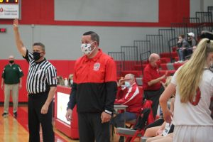 Joe Jacobs Has Done A Excellent Job As Head Coach For The 2021 Frankenmuth Eagles Girls Basketball Team.