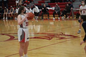 Lexi Boyke & The Frankenmuth Eagles Girls Basketball Team On Defense Carried The Load To A Victory At Frankenmuth HS On Friday Night.