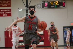Ronnie Lemke Is A Good Player For The 2021 Kingston Cardinals Boys Basketball Team.