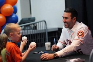 Justin Verlander Helping Kids To Succeed In The Upcoming Years.