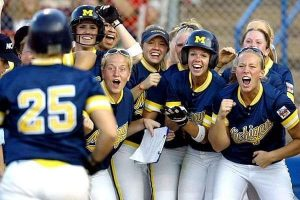 Michigan Wolverines Softball Team Wins On A Year In & Year Out Basis.