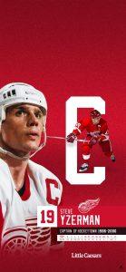 Detroit Red Wings Hockey Team Executive VP & GM Steve Yzerman Is Trusting Captain Dylan Larkin In The Upcoming Years.