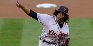 Jose Urena Is Doing Very Well For The 2021 Detroit Tigers Baseball Team As A Starting Pitcher………