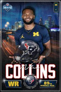 Nico Collins Going To The Houston Texans.